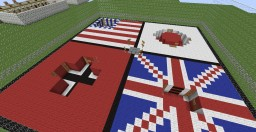 Rising sun (Flan's mod 4.9.0/1.7.10 map) Minecraft