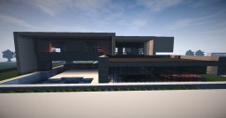 Ultra Realistic Modern Home Minecraft Map & Project