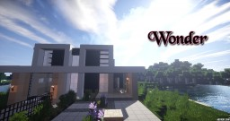 ~Wonder~ Modern House Minecraft Map & Project