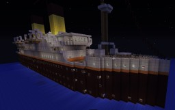 RMS Alusian - 1910's Ocean Liner Minecraft Map & Project