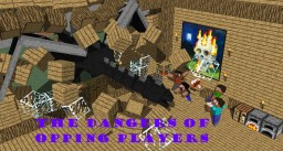 The Dangers of Opping Players | Pop Reel | Minecraft Blog Post