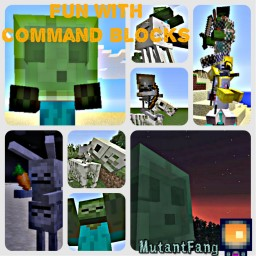 Fun with command blocks! (1.8+) ( Over 30+ Secret/unique commands) Minecraft Blog Post