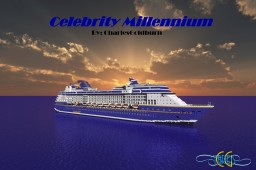 Celebrity Millennium 1:1 Scale Cruise Ship [2-Liveries] [+Download] Minecraft Map & Project