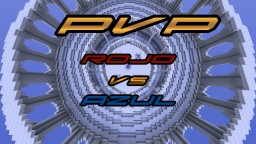 PvP Rojo VS. Azul - PvP Red VS. Blue - 1.8.3 Minecraft Map & Project