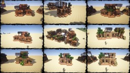 My First Desert House Bundle [DOWNLOAD] Minecraft Project