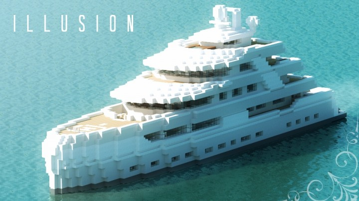 Illusion Luxury Yacht Minecraft Project
