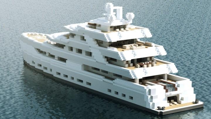 Illusion Luxury Yacht Minecraft Project