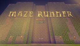 Maze Runner (REDSTONE SYSTEM) Minecraft Map & Project