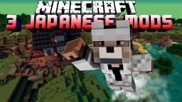 3 Japanese Minecraft Mods, Boosters, Villager Tweaks, and Infinity Storage Mod Review!