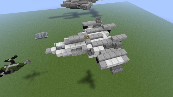 Halo- Vehicles and ships Minecraft Project