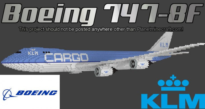 Boeing 747-8f map for minecraft 1. 14, 1. 13. 2 | pc java mods & addons.