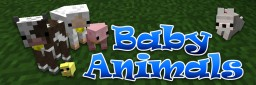 [1.7.x – 1.12] Baby Animals Model Swapper Minecraft Mod