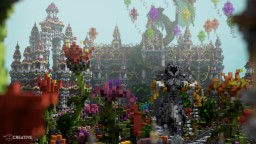 Flower Paradise (with Cinematic) Minecraft Project