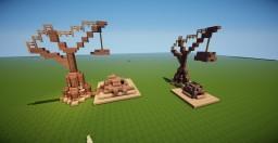 Medieval Cranes & Catapult Minecraft
