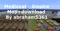 Medieval Empire Map+download Minecraft Map & Project