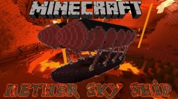 Nether Sky Ship Minecraft Map & Project