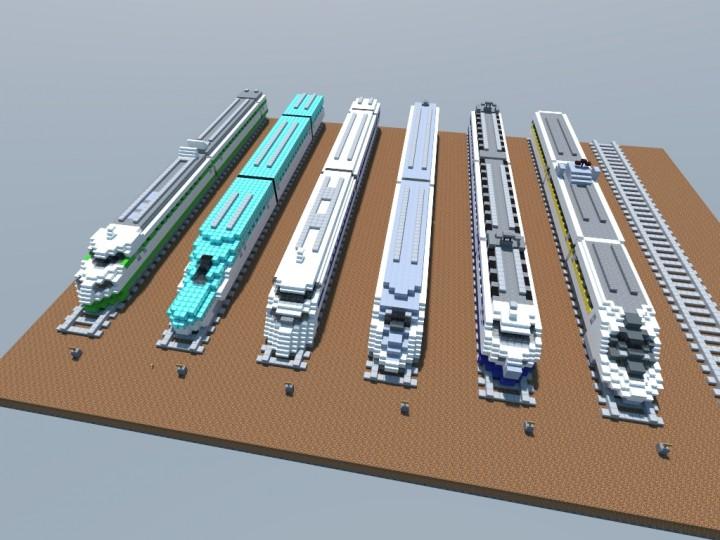 The 2015 v Shinkansen Lineup