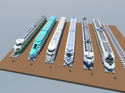 Shinkansen Japanese Bullet Trains マインクラフト 新幹線 Minecraft Project