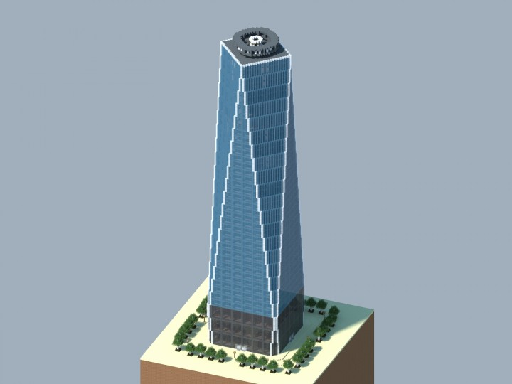 one world trade center freedom tower minecraft project