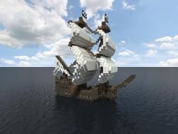 Pirate Ship - Barco Pirata Minecraft Map & Project