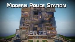 Modern Police Station Minecraft Map & Project