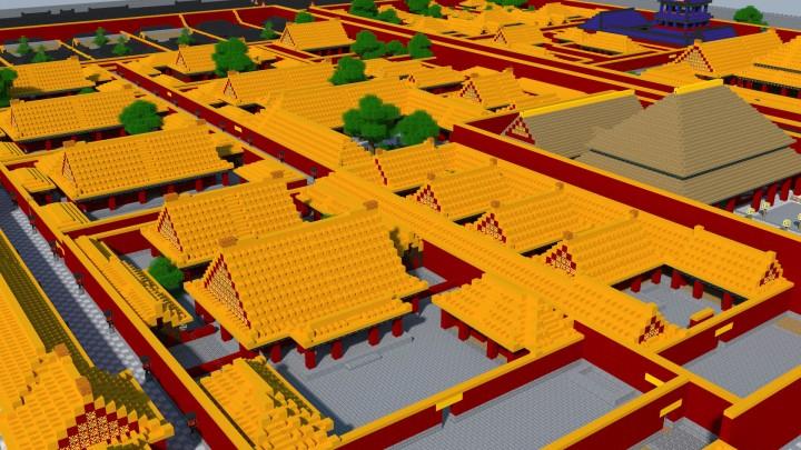 Closeup on the Forbidden Citys Artisan Wrokshops