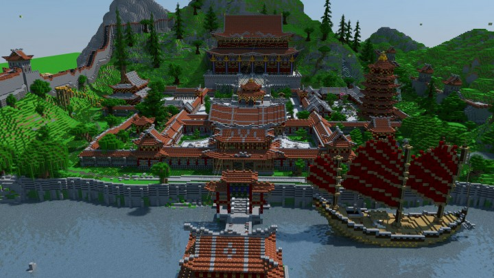 Chinese section of the Project spawn