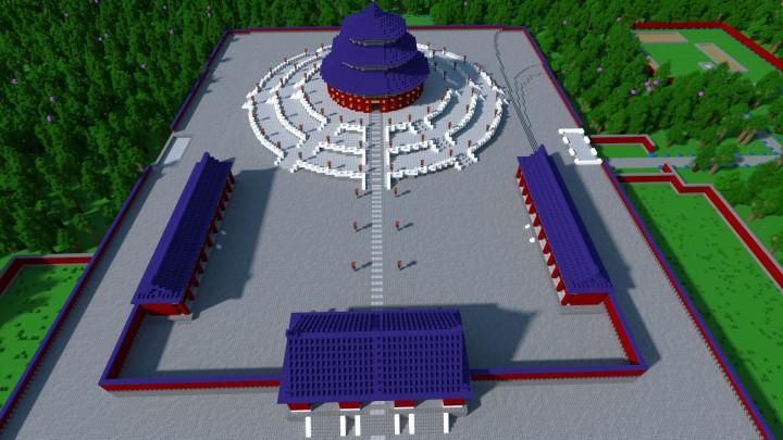 Main Shrine in the Temple of Heaven Complex