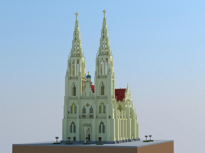 regensburger dom regensburg cathedral minecraft project. Black Bedroom Furniture Sets. Home Design Ideas
