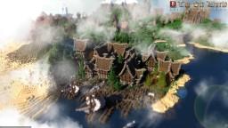 Medieval village Portenbrum Minecraft
