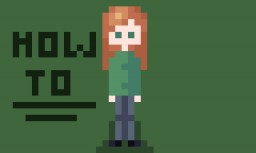 How to Make Cool Little Simplistic Pixel Art People Things!!! Minecraft Blog Post