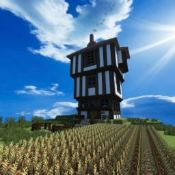 Twilight Willows Tudor House Minecraft Map & Project
