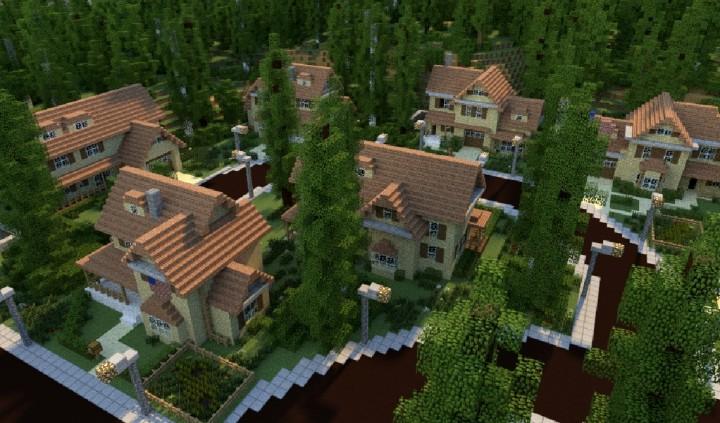 GREENVILLE Idyllic Village For Download Map Schematics