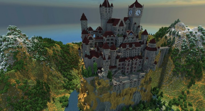 Large castle from game