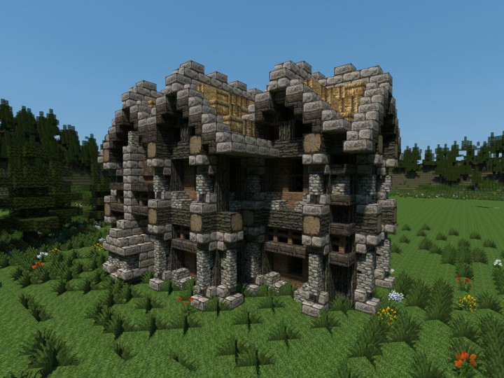 viking medieval house minecraft project