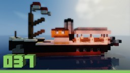 Small steam ship Minecraft Project