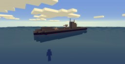 HMS Upholder (British U-Class submarine) Minecraft Map & Project
