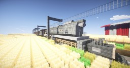 Big boy Steam locomotive, made for 3 wide track Minecraft Map & Project
