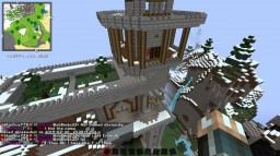 Mountainside Fort Minecraft Map & Project