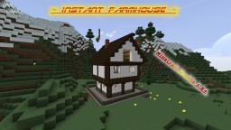 Farmhouse Generator - only one command - Minecraft Vanilla 1.8+