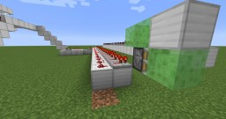 Automatic redstone train Minecraft Map & Project
