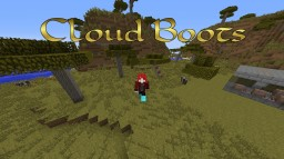 Cloud Boots (Swift Boots) in vanilla Minecraft Map & Project