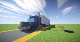 | Vehicles | American Truck Minecraft Map & Project