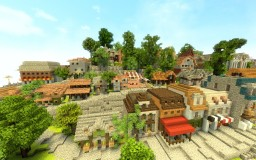 WIP Town Minecraft Map & Project