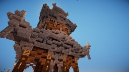 Japanese Tower Minecraft Map & Project