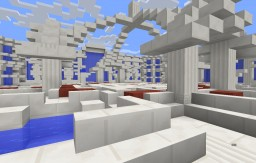 Hub/Spawn -- Free to use -- 4 Exits Minecraft Map & Project