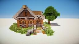 Wood cabin