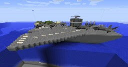[Flyboys] Aircraft Carrier Minecraft Map & Project