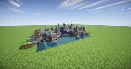 Simple Medieval Bridge Minecraft Map & Project
