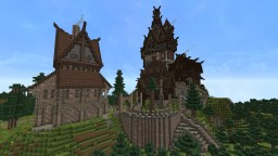 Ravenhold (Skyrim-inspired project) Minecraft